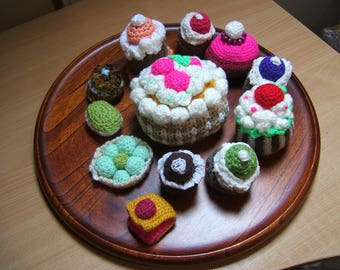 Pastries wool x 12