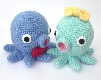 Kawaii Octopus Amigurumi Pattern PDF