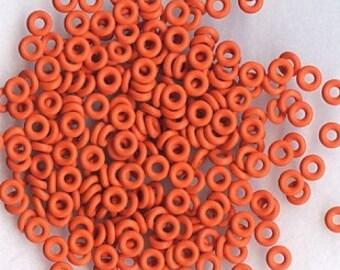5mm  ORANGE  O Rings