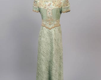 1980 Mary McFadden Couture Vintage Gown