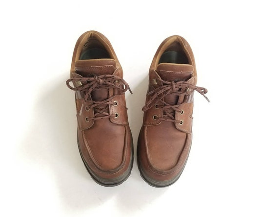 Mens Shoes Sneakers Hiker Leather 9 Brown Boot Desert Ankle Timberland Hiking Boots Chukka Vintage Booties Boat Hipster Classic Deck Fashion FHSdqFZ