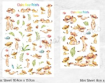 MEERKAT Planner Stickers (2 options)