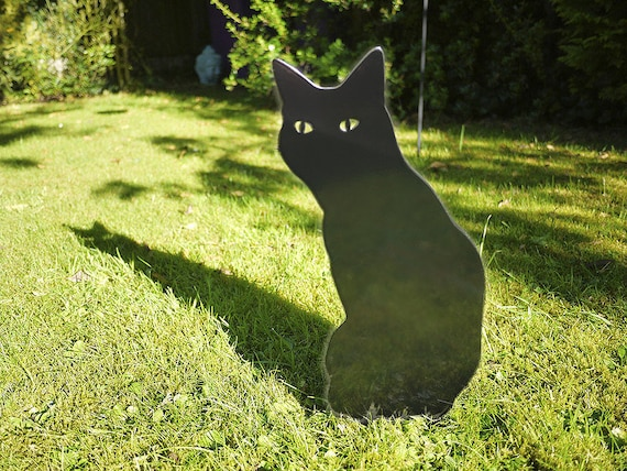 Garden Cat Outdoor Ornament for Cat Lovers, Cat Memorial