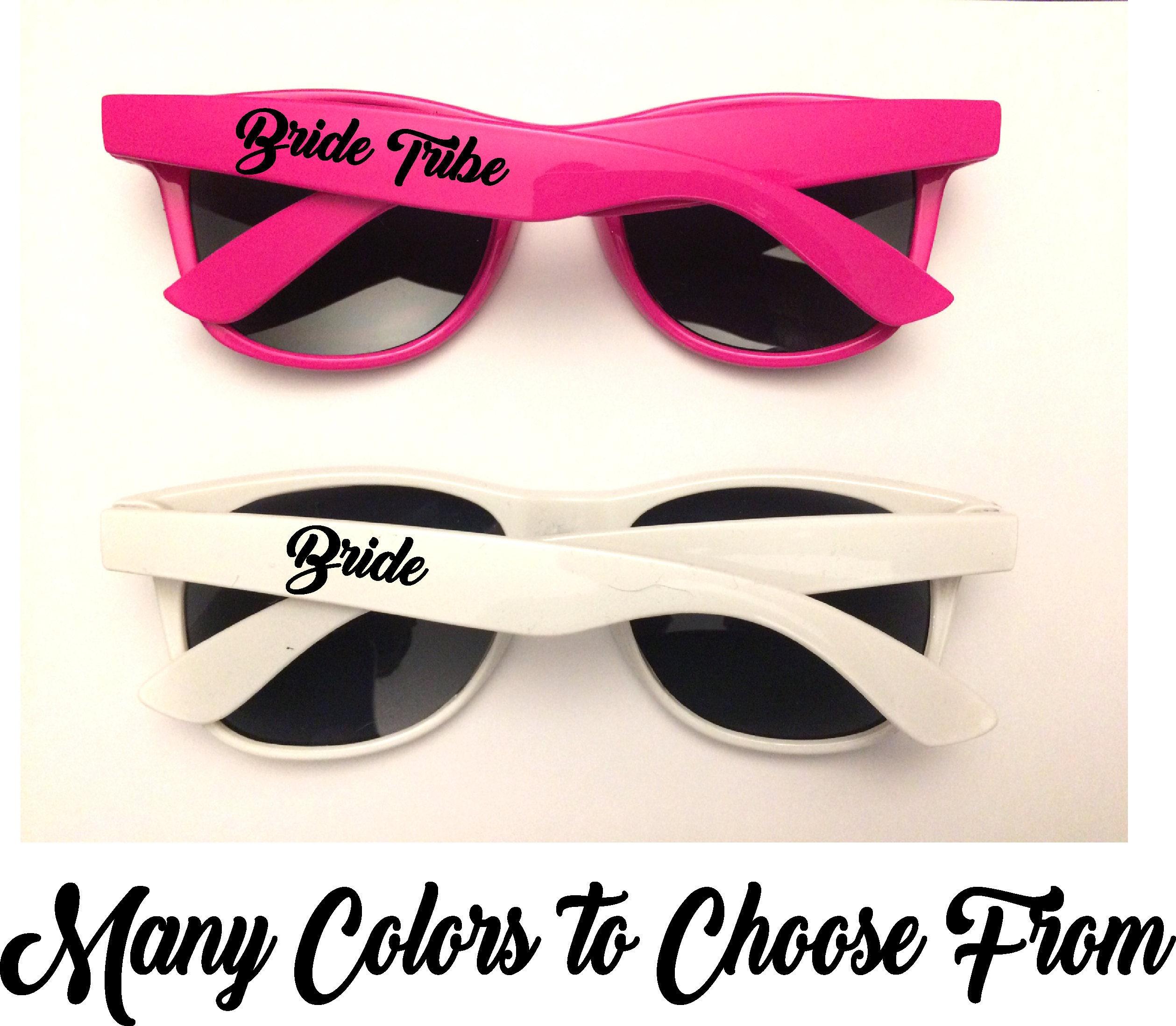 Bachelorette Party Sunglasses Bride Tribe Sunglasses