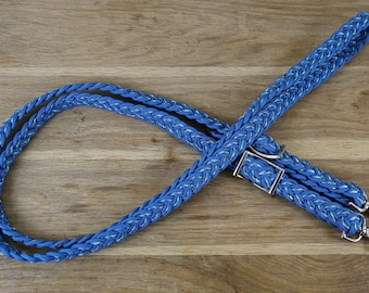 9ft Strand Braid Adjustable Reins.