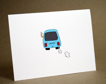 Encouragement Card- Best Friend- Thinking Of You Card, friends, cute, good luck