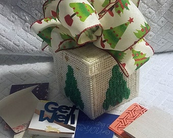 holiday box with greetings