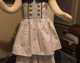 2 piece sailor outfit