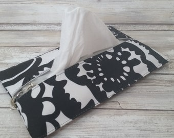 Black Onyx butipod cover.  Soft wet wipes, butipod case, travel wipes cover. slip cover. Ju-Ju-Be customs