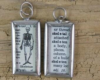 Skeleton Definition Pendant or Charm (JWL)