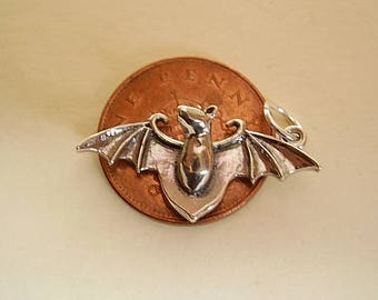 Beautiful Sterling Silver BAT charm