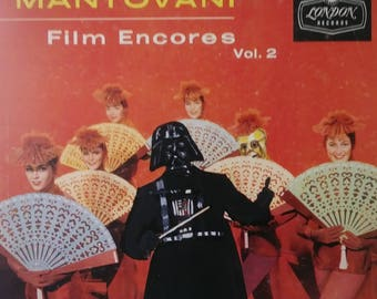 Darth Conducting Mantovani Fan Dance Print