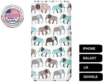 Elephant Phone Case, Phone Case Elephant, Elephant iPhone Case, Elephant Galaxy Case, Elephant Google Pixel, iPhone SE Case, Galaxy S5 Case