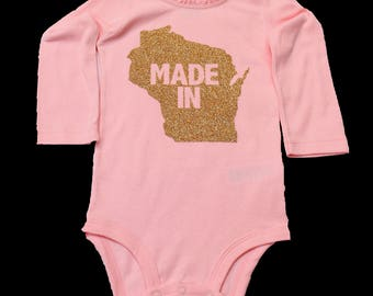 Personalized State Onesies