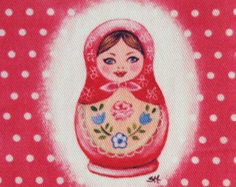 Matryoshka nesting doll patchtwork coupon