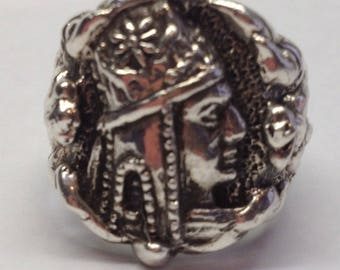 Tigran The Great V4Sterling Silver Ring