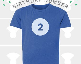 2nd Birthday Shirt - Boys & Girls Unisex TShirt