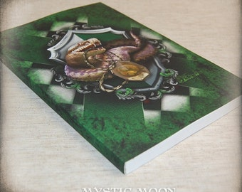 Cunning / Slyther House / Lined Journal /Witchcraft / Wizardry / Potter Journal / Nerdy Gifts / Nerdy