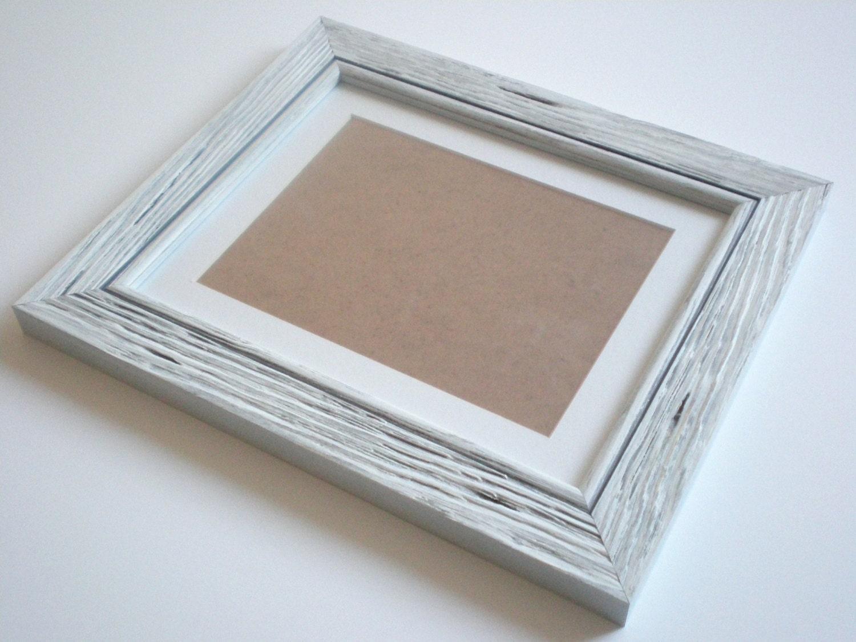 White Wooden Photo Frames Shabby Chic - Interior Design 3d •