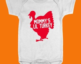 Mommy's Lil Turkey Onesie