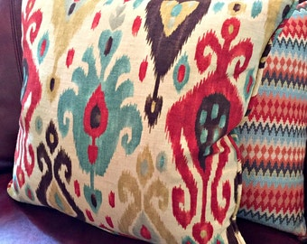 "16"" 18"" 20"" 24"" Custom Pillow Cover with Piping/Cording/Welt using Your Fabric"