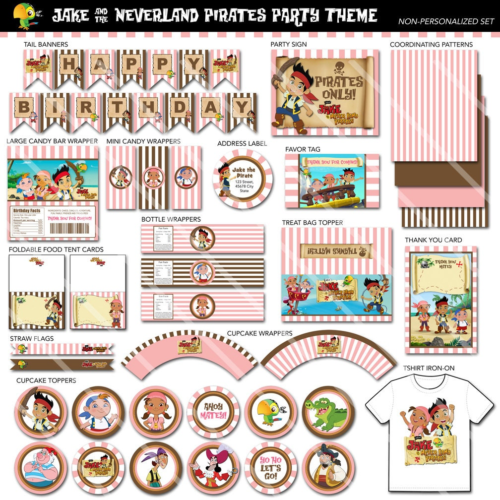 Jake and the neverland pirate party printables - dinocro.info