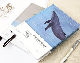 Whale Traveler's Journal Notebook Journal Planner Journal Insert Planner Insert Hand Book