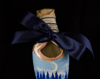 Moonlight Forest Pointe Shoe
