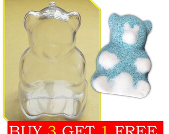 Lovely Bear Shaped Bath Bomb Mold, Baby Shower Decoration
