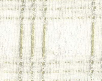 White Woven - cotton fabric - half yard or more