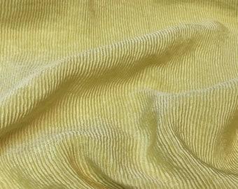 Pleated silk faille Nina R * Haute Couture - 50x135cm piece