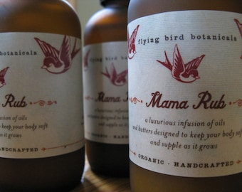 0222 mama rub belly oil......made with 100% organic natural ingredients
