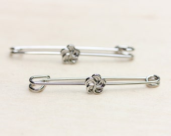Flower Safety Pin Set