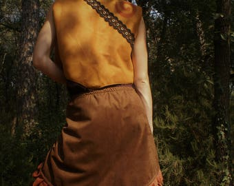 Medieval ruffle skirt
