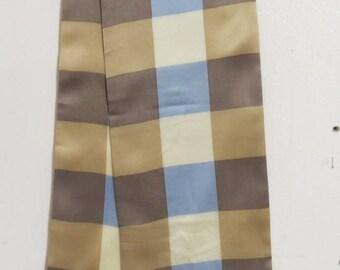 """Long Mens Formal Dress Silk Scarf 6.5"""" X 37""""  ECHO #004"""