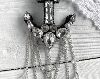 Brooch Handmade Anchor