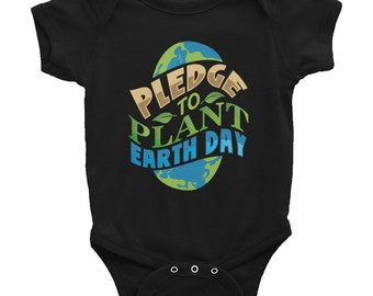 Infant Bodysuit, Infant Girl Clothes, Cute Baby Onesies, Earth Day Shirt Infant, Gift for Newborn, Baby Shower Gift, Arbor Day Shirt