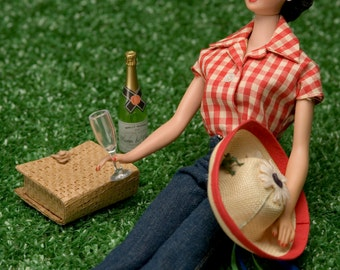 Picnic Barbie Fine Art Photograph
