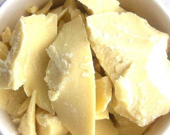 Organic Cocoa Butter 8 oz - 1/2 pound - 227 g - half pound