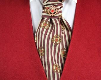 Alice's Night Circus Men's Victorian Steampunk Circus Cravat