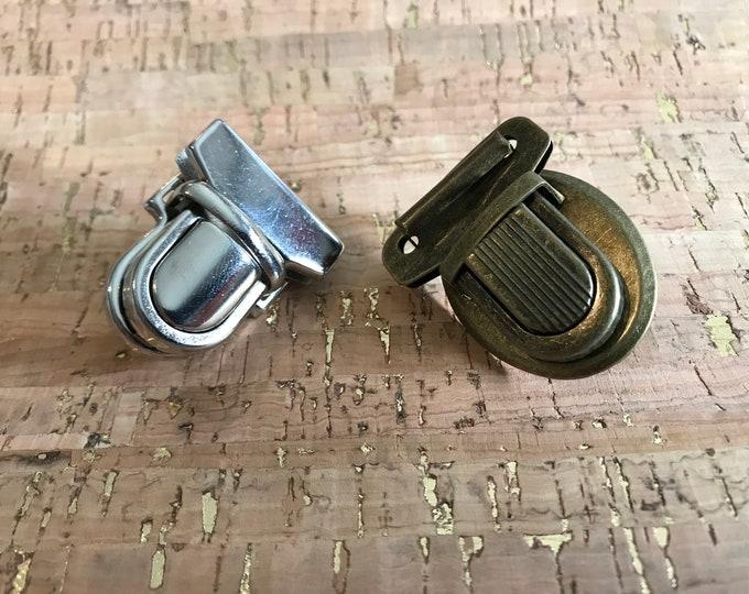 Push Lock - Press Lock - Tongue Lock