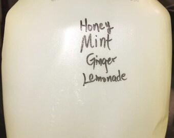 Honey Mint Ginger Lemonade
