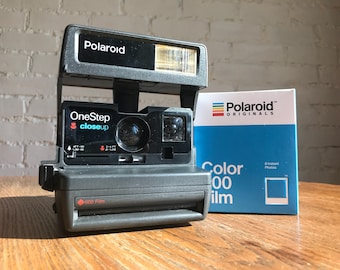Working Polaroid OneStep Close Up with Film