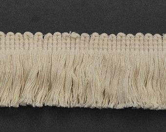 """1-5/8"""" Vintage Cotton Fringe Trim by 2-yard, 4 Colors, TR-11138"""