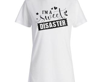 Sweet Disaster Ladies T-shirt s260f