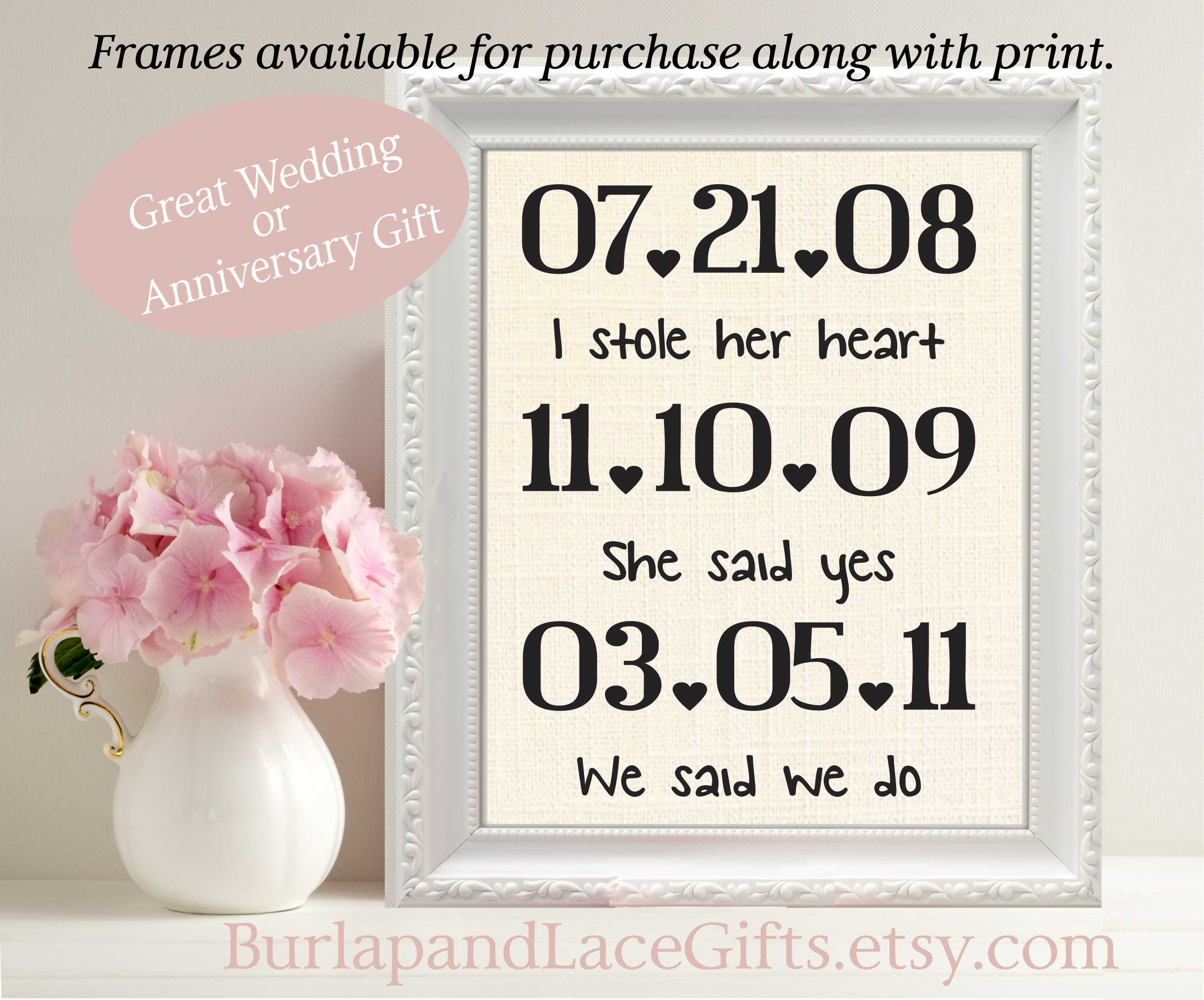 Linen Wedding Anniversary Gifts: Linen Anniversary 4th Anniversary Gift To Wife Couples Gift