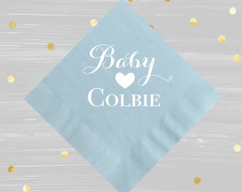 More Colors. Baby Boy Napkins ...