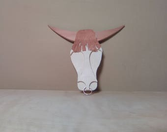 Cow Skull wall art