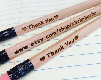 6 Personalized Pencils - Personalized Pencils, Custom Pencils, Engraved Pencils, Personalized Pencils for Kids