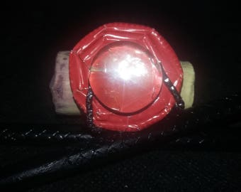 """Unique """"red Passion"""" ring / Unique Ring """"Red Passion"""" / リング/浮環/ring/line"""